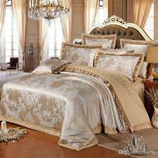 whole chinese wedding style jacquard bedding 100 cotton bedding sets silk duvet cover sets queen king size many luxury bedding bedding accessories girls
