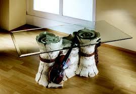 Tavoli Di Vetro Da Salotto : Samantha tavolino design basso da salotto con piano vetro