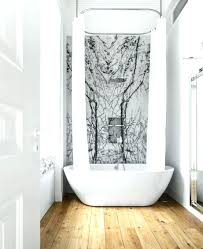 free standing tub shower curtain rod
