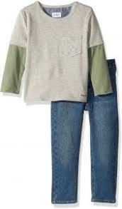Toddler Boy Pants Size Chart Hudson Toddler Boys Slider Pullover Set Tumble Used 2t