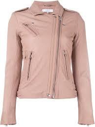 iro women s hanpin biker jacket pink