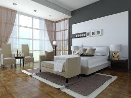 Modern Bedroom Chair Bedroom Extraordinary Bedroom Apartment Retro Design With Beige