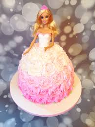 Pink Ombré Barbie Cake By Amy Hart Sweethart Cakes By Amy Hart