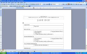 How To Type A Resume On Microsoft Word Laptop Lab How To Make A Resume Step By Step With Microsoft Word