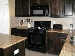 image of kitchens with black appliances ideas