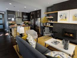 decorate open kitchen living room