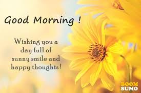 Smile Good Morning Quotes Best Of Good Morning Quotes Awesome Day Full Of Sunny Smile And Happy