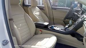 dune katzkin leather interior seat covers fit 2016 2016 ford fusion se se hybrid