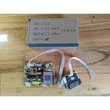 Bo mạch bếp hồng ngoại đa năng cảm ứng D68-A phím cảm ứng rời #phụ tùng  thay thế