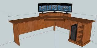 How To Build An L Shaped Desk  Corner Desk Build Your Own Computer Desk  Designs Build A Desk Designs
