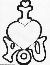 You can follow the suggested thumbnail picture or add your own colors. Cute Coloring Pages For Your Boyfriend Google Search Valentine Coloring Pages Love Coloring Pages Heart Coloring Pages