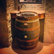 whiskey barrel sinks contemporary the original sink home design garden throughout 14 westmontcatering com