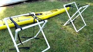wood kayak rack outdoor kayak storage rack medium size of how to build a kayak rack