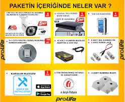 ✓4 Kameralı 5 MP SONY HD LENS 1440P Güvenlik Kamerası Sistemleri Fiyatları  ve Özellikleri