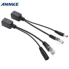 passive poe injector reviews online shopping passive poe annke 1pair poe adapter cable connectors passive power cable ethernet poe adapter rj45 injector splitter kit 5v 12v 24v 48v