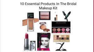 10 essential beauty s in the bridal makeup kit 2018 with