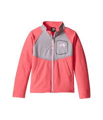the north face kids glacier track jacket toddler honeyle pink womens clothing coats outerwear the north face hats on