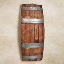 Bello Recycled Wine Barrel Wall Panel Intended For Wine Barrel Wall Art  (Image 3 of