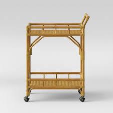 bamboo bar cart. Cassia Rattan Bar Cart - Opalhouse™ Bamboo