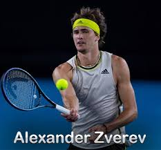 He took the first 4. Alexander Zverev Player Profile