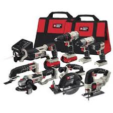 power tools for sale. a set of 8 power tools from porter cable on sale at amazon for $399, $100 off the usual price