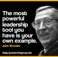John Wooden Leadership Quotes Adorable John Wooden Quotes On Leadership