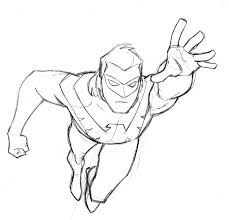Small Picture Batman And Nightwing Coloring Pages Coloring Pages