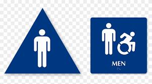 mens bathroom sign png.  Sign Zoom Price Buy  Mens Restroom Sign Triangle Intended Bathroom Png S