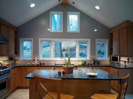 C Example Of A Trendy Kitchen Design In Dc Metro With Stainless Steel  Appliances Granite Countertops An