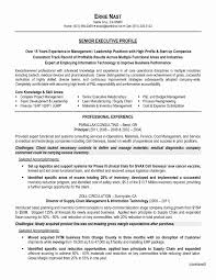 Supply Chain Cover Letter Resume Cover Letter Logistics Inspirational Resume For Logistics And