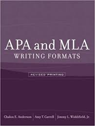 Mla Format For A Book Amazon Com Apa And Mla Writing Formats Revised Printing
