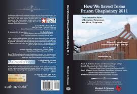 Prison Chaplain Job How We Saved Texas Prison Chaplaincy