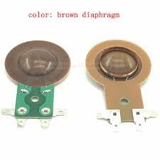 Universal <b>25.5mm Treble</b> Voice Coil <b>Horn</b> tweeter diaphragm Resin ...