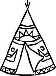 Small Picture American Indian Tent Coloring Page Wecoloringpage