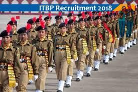 itbp recruitment 2018 19 Indo Tibetan Border Police Force Constable Jobs