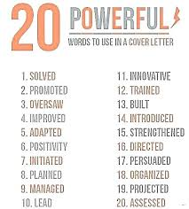 Resume Words To Use Words To Use On Resume Key Resume Words Phrases Resume Words For 19