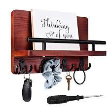 key holder mail holder for wall