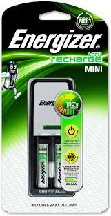 <b>Зарядное устройство</b> для аккумуляторов <b>Energizer Mini</b> Charger + ...