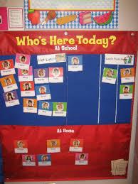 Whos Here Today Chart Kidscount1234 Com Shari Sloane Educational Consultant