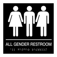 restroom signs. Interesting Restroom All Gender Restroom  Braille Signs Inside