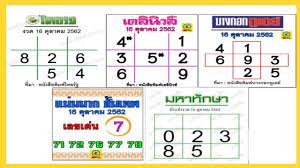 เลขเด็ด หวยไทยรัฐ+เดลินิวส์+บางกอกทูเดย์+แม่นมาก ขั้นเทพ+มหาทักษา 16ตุลาคม 2562 - YouTube