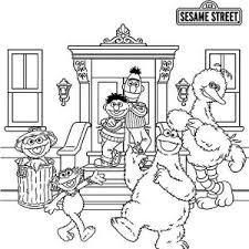 Small Picture Cookie and Elmo with Oscar in Garbage Can in Sesame Street