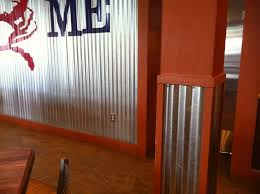 bold and modern corrugated metal walls garage pictures in bathroom shower siding interior used for