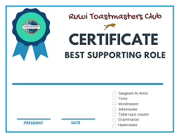 Ruwi Toastmasters Club October 2017