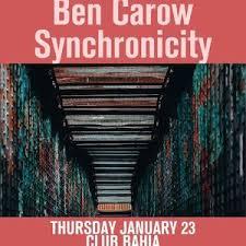 Bandsintown | Ben Carow Tickets - Club Bahia, %{eventStartTime}