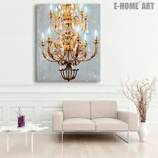 chandelier painting dwelling shabby chic paint
