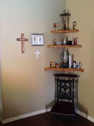Modern Catholic Altar Designs For Home The Main Altar In My Home In Our Bedroom Home Altar Ideas