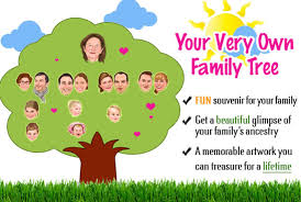 how to draw family tree draw a premium memorable family tree caricature by valiantgraphics