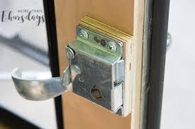 inside door handle