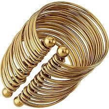 tammy gold iron wire napkin ring